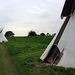 Gift Experiences - One Night Tipi Adventure for Two