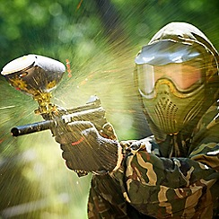 Activity Superstore - Paintballing gift experience day for 2