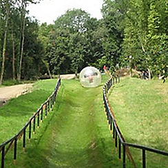 Activity Superstore - Zorbing gift experience for 2