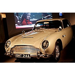 Gift Experiences - Bond in Motion Exhibition with Cream Tea or a Meal for Two
