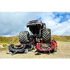 Gift Experiences - Monster Truck and 4x4 Off Road Passenger Ride for Two
