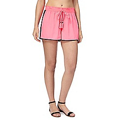 Red Herring - Pink mesh shorts