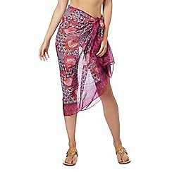 Beach Collection - Woodblock sarong