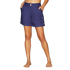Mantaray - Navy poplin shorts
