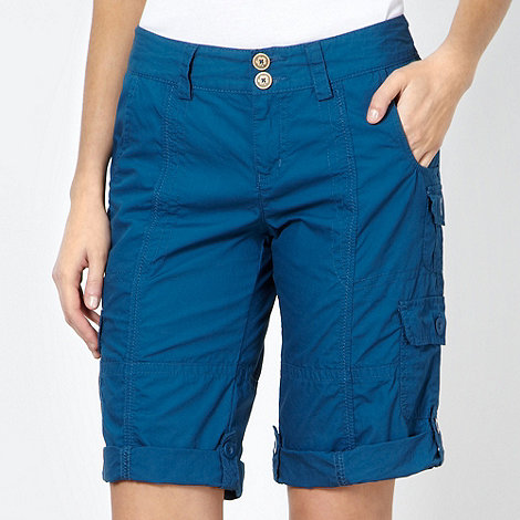 Mantaray - Dark blue cargo shorts