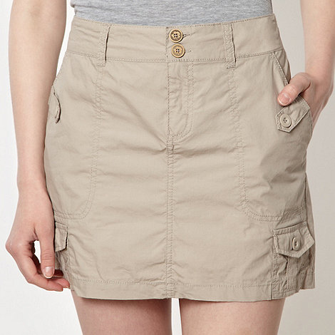 Mantaray - Natural cargo skirt