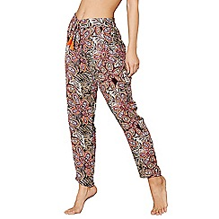 MW by Matthew Williamson - Multi-coloured floral printed trousers