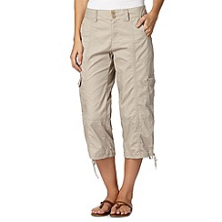 Mantaray - Natural cargo trousers