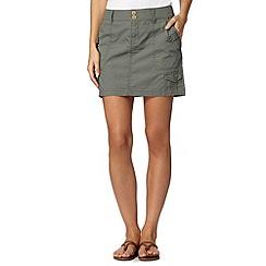 Mantaray - Khaki cargo skirt