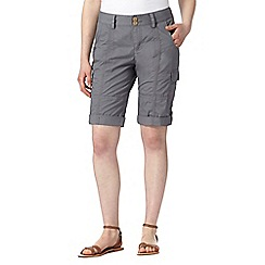 Mantaray - Grey cargo shorts