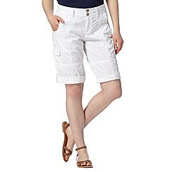 Mantaray - White cargo shorts