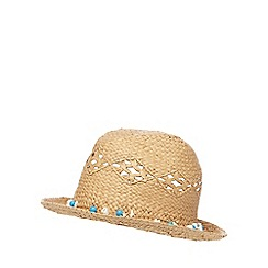 Mantaray - Beige shell trim trilby