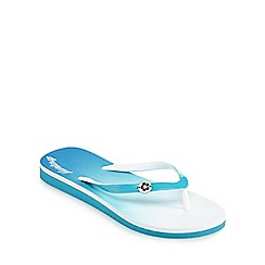Mantaray - Blue ombre effect sandals