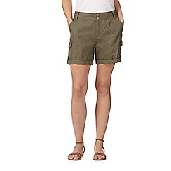 Mantaray - Khaki poplin shorts