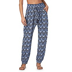 Beach Collection - Blue 'Harlem' trousers