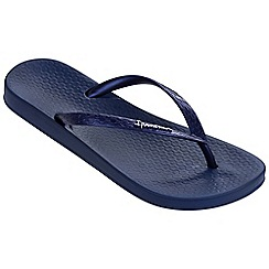 Ipanema - Tropical navy flip flops