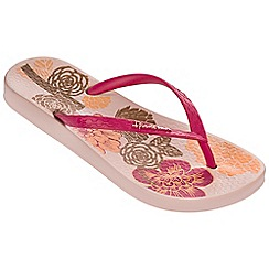 Ipanema - Petal v pink flip flops