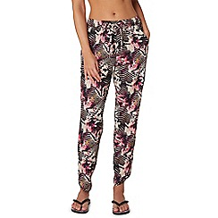 Butterfly by Matthew Williamson - Multi-coloured Aztec print trousers
