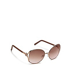 Lipsy - Rose metal oversized sunglasses