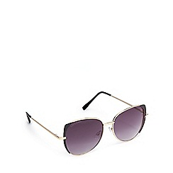 Lipsy - Gold cat eye sunglasses