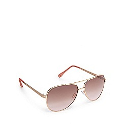 Lipsy - Rose diamante aviator sunglasses