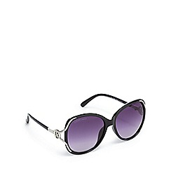 Lipsy - Black oversized sunglasses