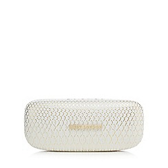 Lipsy - Gold snakeskin-effect hard sunglasses case