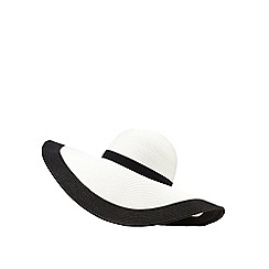 Reger by Janet Reger - Black oversized hat