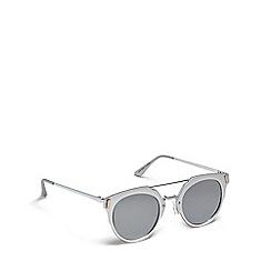Red Herring - Silver cat eye sunglasses