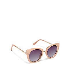 Floozie by Frost French - Pink cat eye sunglasses