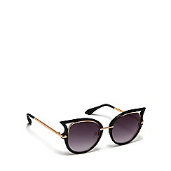 Floozie by Frost French - Black cat eye frame sunglasses