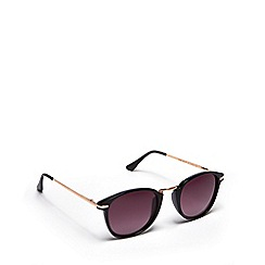 Floozie by Frost French - Black round sunglasses
