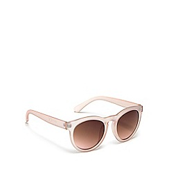 Red Herring - Pink round sunglasses