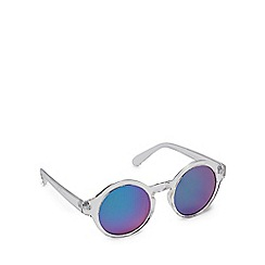 Red Herring - Silver round sunglasses