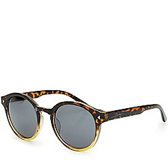 Bloc - Bow   Shiny graduated tortoiseshell sunglasses