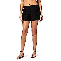 Floozie by Frost French - Black lace shorts