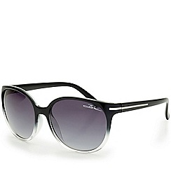 Bloc - Jessica - shiny black graduated sunglasses