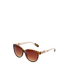 Gionni - White torta cat eye sunglasses