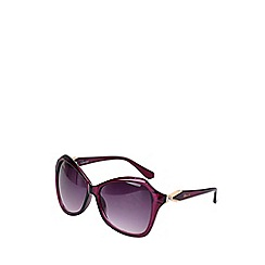 Gionni - Square frame with metal temple sunglasses