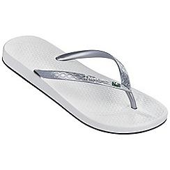 Ipanema - White beach flip flops