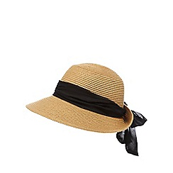 Beach Collection - Natural bow sun hat