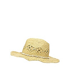 Mantaray - Beige shell trim stetson