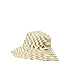 Mantaray - Natural round brim sun hat