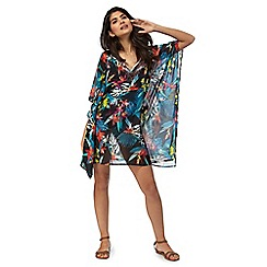 Butterfly by Matthew Williamson - Multi-coloured floral print kaftan