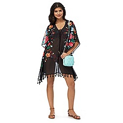 Floozie by Frost French - Black floral print kaftan