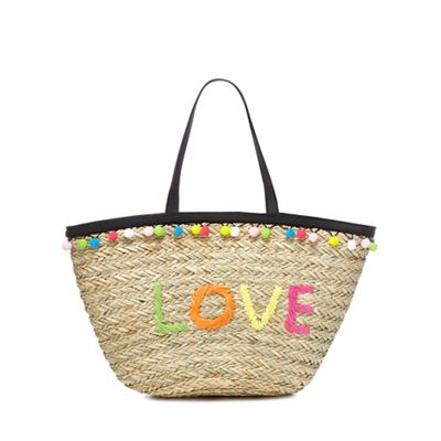 Floozie by Frost French Multi-coloured straw tote bag | Debenhams