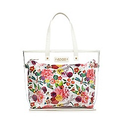 Floozie by Frost French - Multi-coloured floral print tote bag