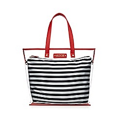 Floozie by Frost French - Navy striped print tote bag