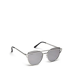 Lipsy - Silver cat eye sunglasses