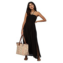 Beach Collection - Black maxi dress